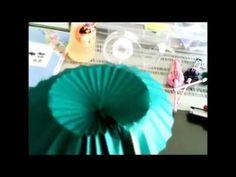 開閉できる折り紙傘の作り方