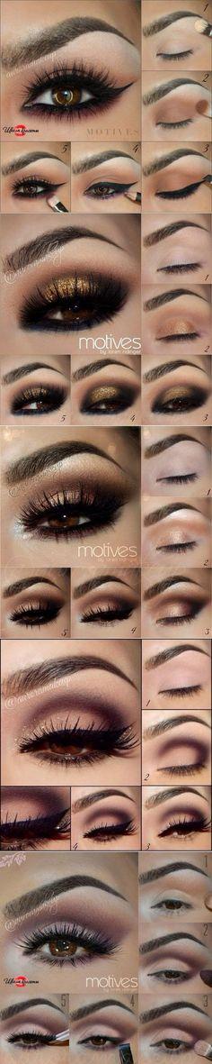 Пошаговые уроки макияжа.....♥ Deniz ♥