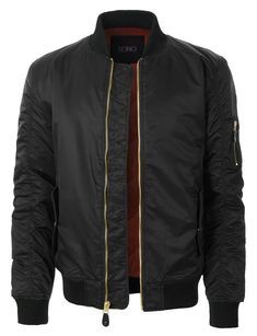 Shop a great selection of Mens Classic Nylon Bomber Flight Jacket With Multiple Pockets. Find new offer and Similar products for Mens Classic Nylon Bomber Flight Jacket With Multiple Pockets. Ma 1 Jacket, Nylon Bomber Jacket, Bomber Jackets, Mens Insulated Jackets, Mens Flight Jacket, Tactical Wear, Streetwear Jackets, Big Men Fashion, Men's Coats And Jackets