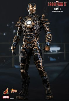Hot Toys : Iron Man 3 - Bones (Mark XLI) 1/6th scale Collectible Figure - $285