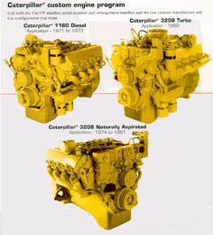 Diesel Vehicles, Diesel Cars, Diesel Engine, Cat Engines, Wood Toys Plans, Truck Engine, Cool Trucks, Car Stuff, Caterpillar