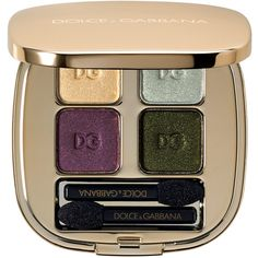 Dolce & Gabbana The Eyeshadow Smooth Eye Colour Quad found on Polyvore