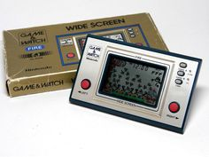 Nintendo Game & Watch Wide Screen Fire FR-27 Boxed MIJ 1981 Great Condition F/S #Nintendo