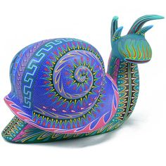 Orlando Mandarin & Magdalena Santiago: Large Snail