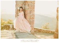 Ethereal Princess Photoshoot at Stone Castle Ruins {Julie Story}