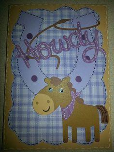 Horse Card w/Create a Critter.  www.angelssendinghope.com