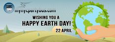 Wishing you a happy Earth day, April 22 .