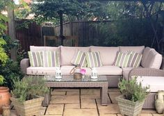 Sunshine + luxurious comfort = summertime bliss… Don't miss out! Get your garden ready to enjoy warm sunny days with our luxury rattan garden furniture ☀ ❤ use our exclusive Pinterest discount code PIN7 to get an extra 7% off all items including sale items online or at our London or Manchester showroom open 7 days a week http://www.modafurnishings.co.uk/offers