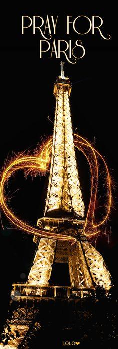 Pray for Paris Beautiful Paris, I Love Paris, Tour Eiffel, Paris Travel, France Travel, Monuments, Francia Paris, Eiffel Tower Pictures, Pray For Paris