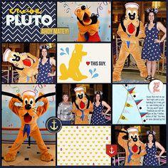 Pluto digital scrapb