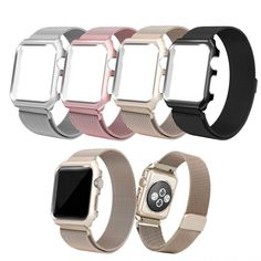 >> Click to Buy << Milanese Loop Bracelet Watch Band Strap Metal Case for Apple Watch iWatch 38mm 42mm series #Affiliate