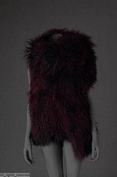 Fur coat designed by Ann Demeulemeester 9edc911c896fd