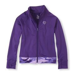 The perfect topper for her active outfits to keep her dry and warm!