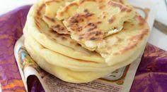 """Cheese Naan du Livre """"Inde"""" de Sanjee"""