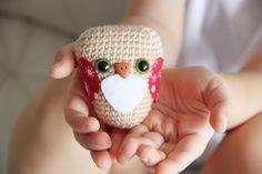 Owl  Crocheted Owl  Amigurumi Owl by daydreamsbymeri
