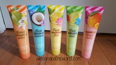 Bath and Body Works New Summer Scents 2015 Cooling Gel Lotion