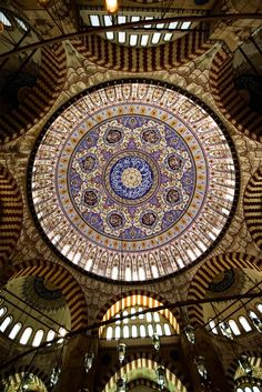 """indigenousdialogues: """" One of the domes of the Hagia Sophia in Istanbul, Turkey. """""""