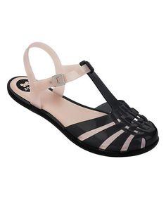 5231163f7efd16 Black  amp  Nude Dream Sandal  zulilyfinds Jelly