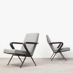 Located using retrostart.com > Repose Lounge Chair by Friso Kramer for Ahrend de Cirkel