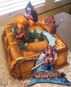 Resultado de imagen para lore warcraft cake