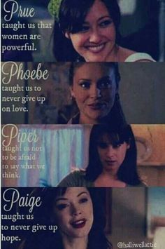 Amazing role models of my generation Serie Charmed, Charmed Tv Show, Movies Showing, Movies And Tv Shows, Series Movies, Tv Series, Phoebe And Cole, Chris Halliwell, Charmed Sisters