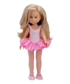 Another great find on #zulily! Les Chéries Ballerina Doll Outfit for 13'' Doll by Corolle #zulilyfinds