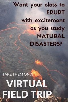 Looking for a way for your students to visit a volcano? To experience an earthquake? To compare the different types of plate movement? Take them on a virtual field trip in the comfort of your computer lab! Check these printable, no prep activities at 8th Grade Science, Middle School Science, Elementary Science, Science Classroom, Teaching Science, Elementary Schools, Mad Science, Elementary Teacher, Life Science