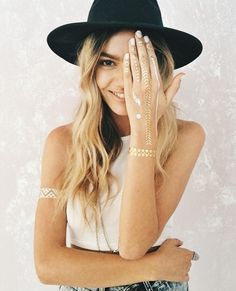 Temporary Metallic Tattoos - V & V Jewels