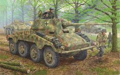 sd.kfz 234/2, puma