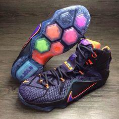 Nike LeBron 12 Galaxy