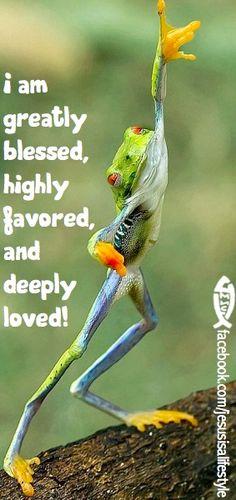 Praise God...he loves even me!
