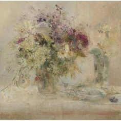 Carmen Laffon (Spanish, 1934) Still-life With Flowers 1966