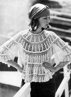 Ivelise Feito à Mão: Vintage Crochet! O Crochê Sempre Em Destaque....