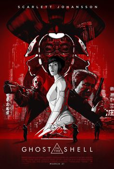 GHOST IN THE SHELL (2017) ACTION MOVIE TRAILER AND REVIEW