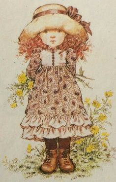 Holly Hobbie, Mary May, Ann Doll, Pintura Country, Sweet Pic, Creative Pictures, Australian Artists, Cute Art, Illustration Art