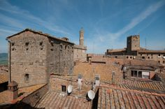 #Hotel Nazionale overlooks the most beautiful panoramic point of #Volterra, #Tuscany
