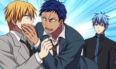 Image about anime in Kuroko No Basket🏀🏀 by ☆ ᗩᖇƗᗩᘉᕮ ᘉᗩᔕᑕƗᗰᕮᘉƬ〇 ☆ Kise Ryouta, Kuroko Tetsuya, Kuroko No Basket, Nagisa And Karma, Akakuro, Sailor Moon Aesthetic, Generation Of Miracles, Silly Faces, Funny Anime Pics