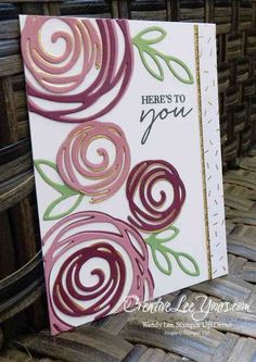 2016 incentive trip swap by Wendy Lee, Stampin Up, Swirly bird stamp set Pretty Cards, Cute Cards, Su Swirly Scribbles, Tarjetas Stampin Up, Karten Diy, Bird Cards, Stamping Up Cards, Marianne Design, Flower Cards