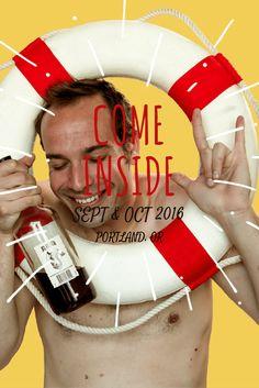#ComeInside2016 - COME INSIDE SEPT & OCT 2016 PORTLAND, OR http://www.eleanorobrien.com/shows/come-inside/