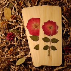 サイズは:50mm*140mm押し花の作品、土台はバンブーです。|ハンドメイド、手作り、手仕事品の通販・販売・購入ならCreema。