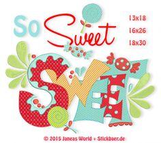 So Sweet Sparset2 13x18+16x26+18x30