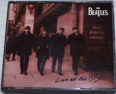 Live At The BBC CD by The Beatles with Booklet and insert