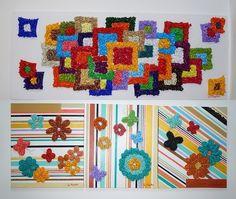 Cris Magalhães usa cores vibrantes para criar quadros alegres. (Foto: Patrícia Pacífico/Arquivo Pessoal)