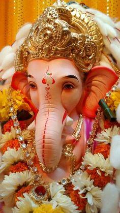 Ganapati Bappa Morya ☺yes Jai Ganesh, Ganesh Lord, Ganesh Idol, Shree Ganesh, Lord Krishna, Ganesh Chaturthi Greetings, Ganesh Chaturthi Images, Happy Ganesh Chaturthi, Shri Ganesh Images