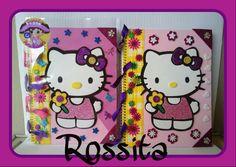 Cuadernos decorados Kitty