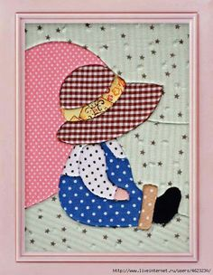 free sunbonnet sue patterns to print - Yahoo Canada Image Search Results - Dur Be Applique Templates, Applique Patterns, Applique Designs, Quilt Patterns, Sewing Patterns, Patchwork Quilting, Applique Quilts, Embroidery Applique, Quilting Projects