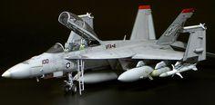 F/A-18F Super Hornet by Hubert Ortinger (Hasegawa 1/48)