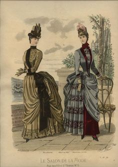 Le Salon de la Mode 1885