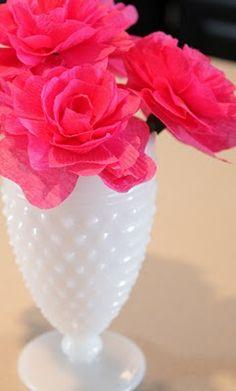Sweet Something Designs: Crepe Paper Flowers