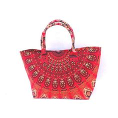 d27fed2159 Mandala handbag , sholder bag · online indian printed red mandala@handbag  for like a girls , #womens at handicrunch